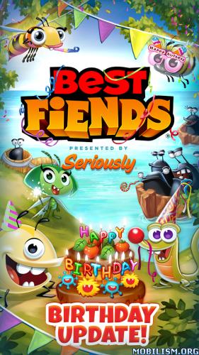 Best Fiends - Puzzle Adventure v3.8.0 (Mod) Apk