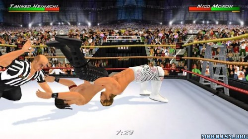 Wrestling Revolution 3D v1.530 [Full] Apk