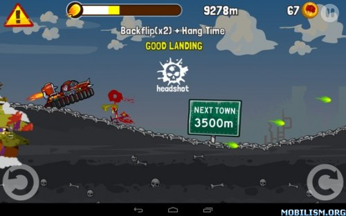 Zombie Road Trip v3.17 (Mod Money) Apk