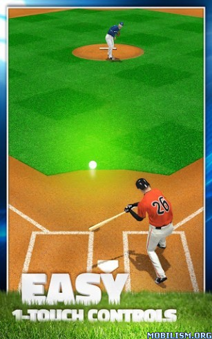 Tap Sports Baseball 2015 v1.4.0 (Mod) Apk