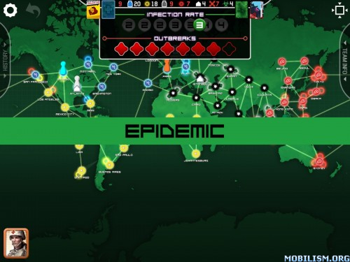 Pandemic: The Board Game v1.1.32 Apk