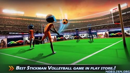 StickMan Volleyball 2016 v1.1 (Mod Money) Apk