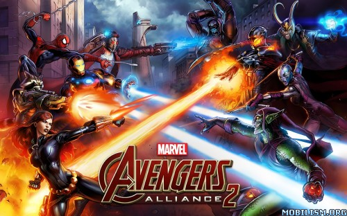 Marvel: Avengers Alliance 2 v1.0.2 Mod Apk Game Android