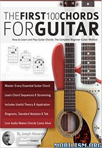 Download ebook Guitar: The First 100 Chords by Joseph Alexander (.ePUB)