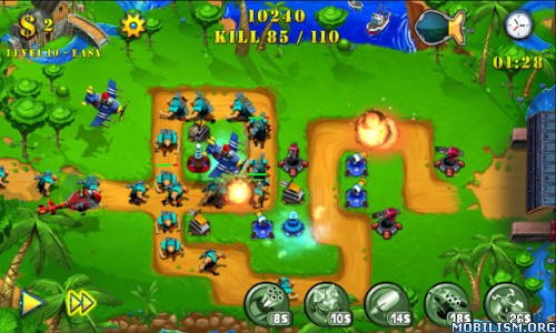Tower Defense Evolution 2 v1.3 [Mod Money] Apk