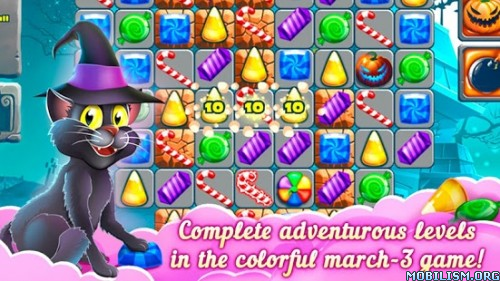 3 Candy: Sweet Mystery v2.0.0 (Mod Coins/Hearts) Apk