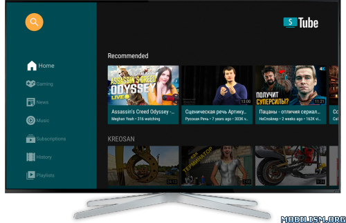 SmartTube Next APK for Android TV v11.6 MOD APK [No ADS] 1