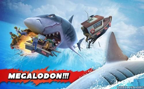 Hungry Shark Evolution v3.7.0 [Mega Mod] Apk