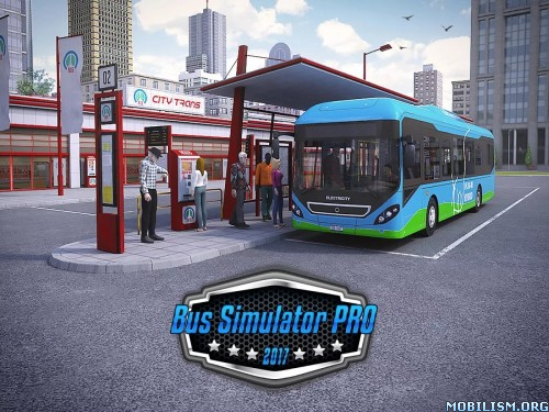 Bus Simulator PRO 2017 v1.2 + Mod Money Apk
