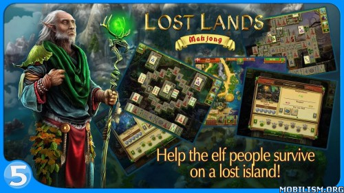 Lost Lands: Mahjong Premium v1.2.2 Apk