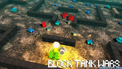 Block Tank Wars v3.2.0 [Mod Money/Ad-Free] Apk
