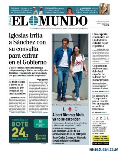 El Mundo – 13 July, 2019 [ESP]