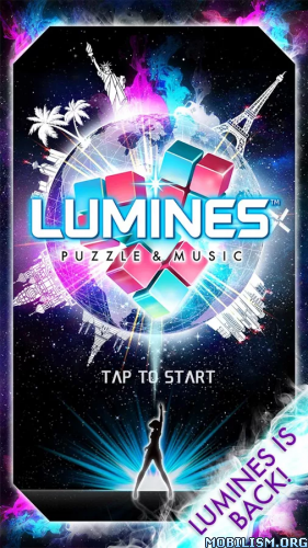 LUMINES PUZZLE AND MUSIC v1.3.8 Apk