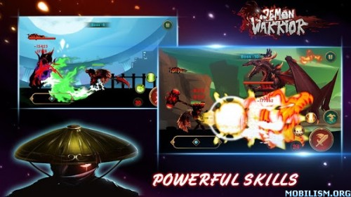 Demon Warrior v3.5 (Mod Money) Apk
