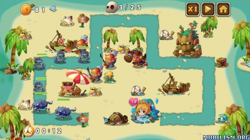 Ancient Heroes Defense v1.0.5 (Mod Money/Unlocked) Apk