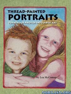 Thread Painted Portraits by Lea McComas