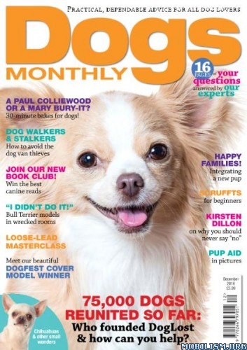 Download ebook Dogs Monthly - December 2016 (.PDF)