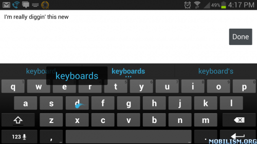 Android Keyboard (AOSP) apk v4 4 2 | Stock keyboard,All