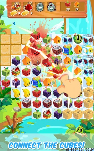 Juice Cubes v1.35.05 (Infinite Gold) Apk