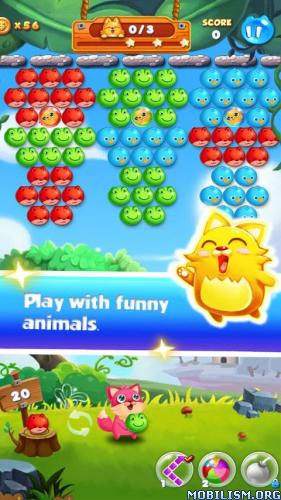 Bubble Cat Rescue v1.4.5 [Mod] Apk