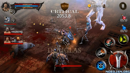 BloodWarrior v1.2.5 [Mod Money] Apk