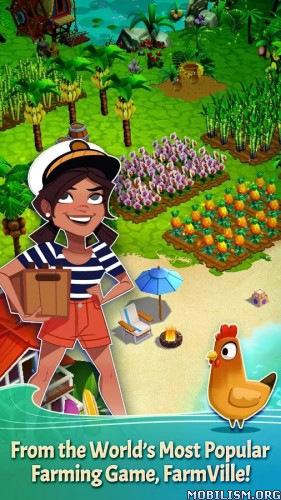 FarmVille: Tropic Escape v0.2.212 [Mod Gems] Apk