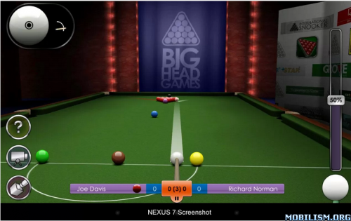 International Snooker Pro HD v1.11 + (Unlimited Money) Apk