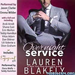Overnight Service by Lauren Blakely (.M4B)