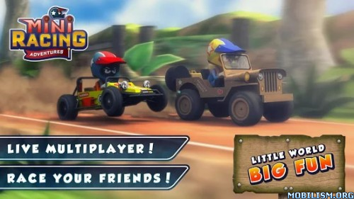 Mini Racing Adventures v1.5.2 (Mod Money) Apk