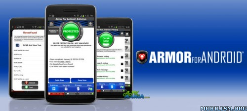 Security • Armor for Android™ Security v2.1.6.2