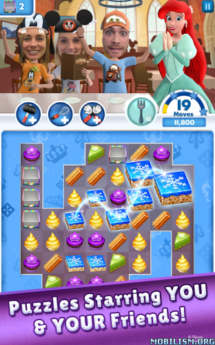 Disney Dream Treats v2.3.1.000 (Mod) Apk