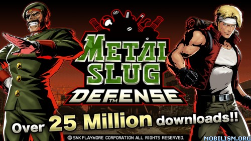 Metal Slug Defense v1.38.0 (Unlimited MSP/Medals/BP) Apk