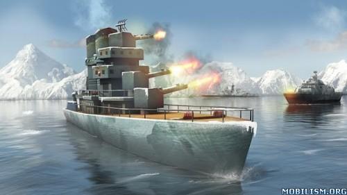 Naval Fury: Warship 3D v1.0 (Mod Money/Ad-Free) Apk