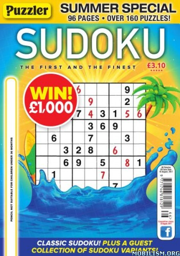 Download ebook Puzzler Sudoku - Issue 166, 2017 (.PDF)
