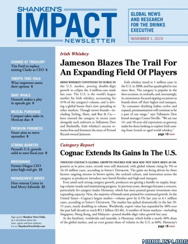 Shanken's Impact Newsletter – November 01, 2019