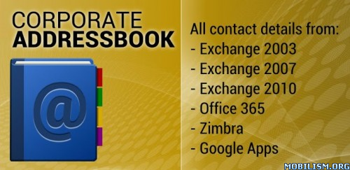 Software Releases • Corporate Addressbook (Varies with device)