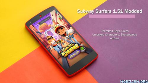 Subway Surfers v1.51.1 (Mods) Apk