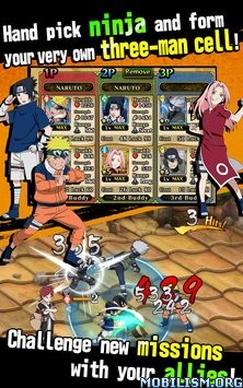Ultimate Ninja Blazing v1.09 (Mods) Apk