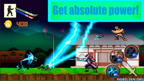 Ninja: Kakashi Team Revenge v1.0.3 (Mod Money) Apk