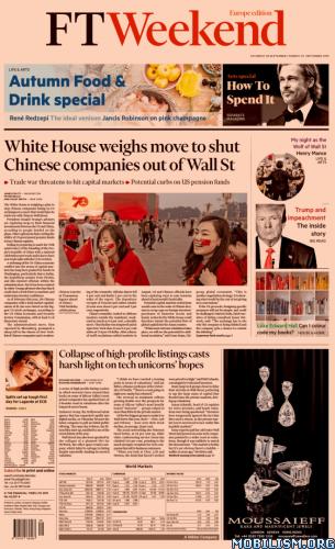 Financial Times Weekend Europe – September 28/29, 2019