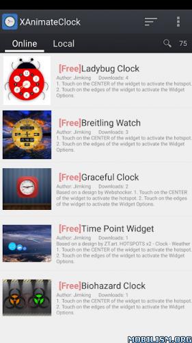 XWidgetSoft Forum • View topic - XAnimateClock : Animated Clock