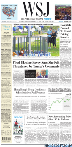The Wall Street Journal Weekend – November 16/17, 2019