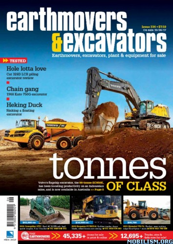 Download ebook Earthmovers & Excavators - Issue 334 2017 (.PDF)