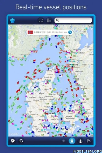 MarineTraffic ship positions v3.1.5 [Original & Patched]