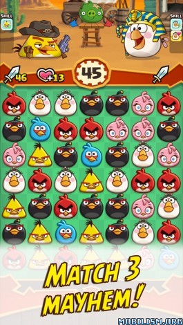 Angry Birds Fight! v2.4.2 (Mega Mod) Apk