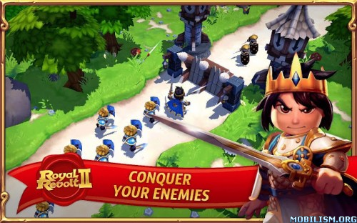 Royal Revolt 2 v1.9.6 [Mod Mana] Apk