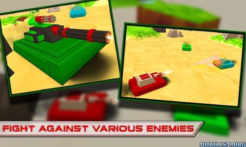 Blocky Tanks Force v1.3 (Mod Money) Apk