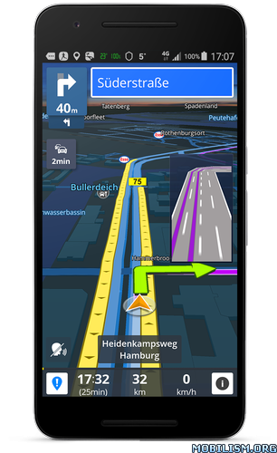 GPS Navigation & Maps Sygic v17.2.11 [Unlocked]