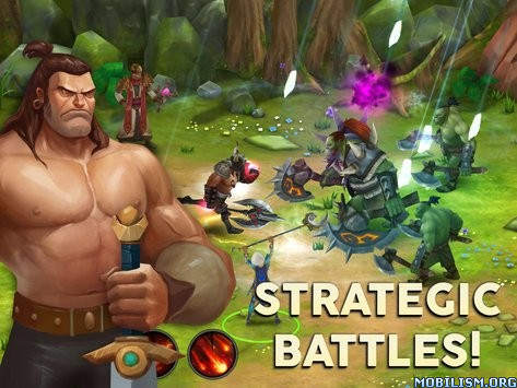 Quest of Heroes: Clash of Ages v1.1.7 [Mod] Apk