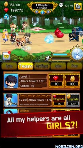 Part Time Hero:Monster Mayham v1.14 (Mod Money) Apk